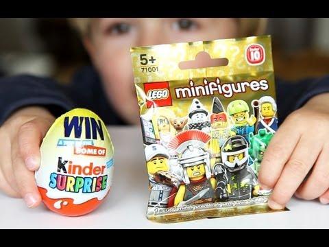 Lego MiniFigures Kinder Surprise Egg