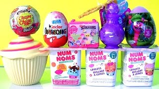 Cupcake Surprise Dolls NUM NUMS Surprise 3.1 & 3.2 FASHEMS STACKEMS, Shimmer and Shine Genie Bottle