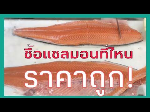 EP021: ปลาแซลมอนแม็คโคร แล่แซลมอน แซลมอน ซื้อแซลมอนที่ไหน