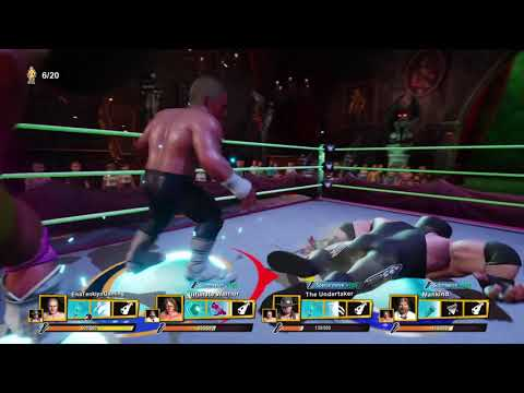 WWE 2K Battlegrounds Royal Rumble How Long Can I Last As Dolph Ziggler? |