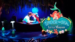 Under The Sea Journey Of The Little Mermaid Ride Disney World 4K Video