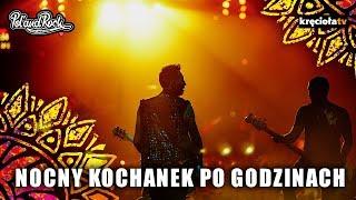 Nocny Kochanek za kulisami - przed i po koncercie Pol'and'Rock Festival