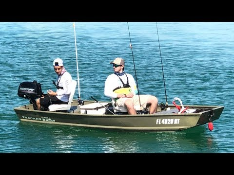 Jon Boat Adventures   Mangrove Snapper Fishing With Live Shrimp!