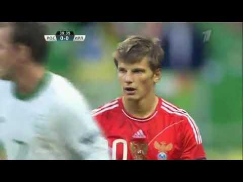 Россия   Ирландия отборочный матч ЕВРО 2012, Обзор, 2011 09 06