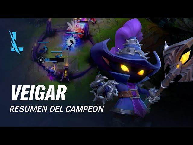 Resumen del campeón: Veigar   Experiencia de juego - League of Legends: Wild Rift