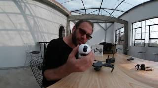 Attaching a Gear 360 Camera to a Mavic Pro Drone + Sample 360 Video Footage