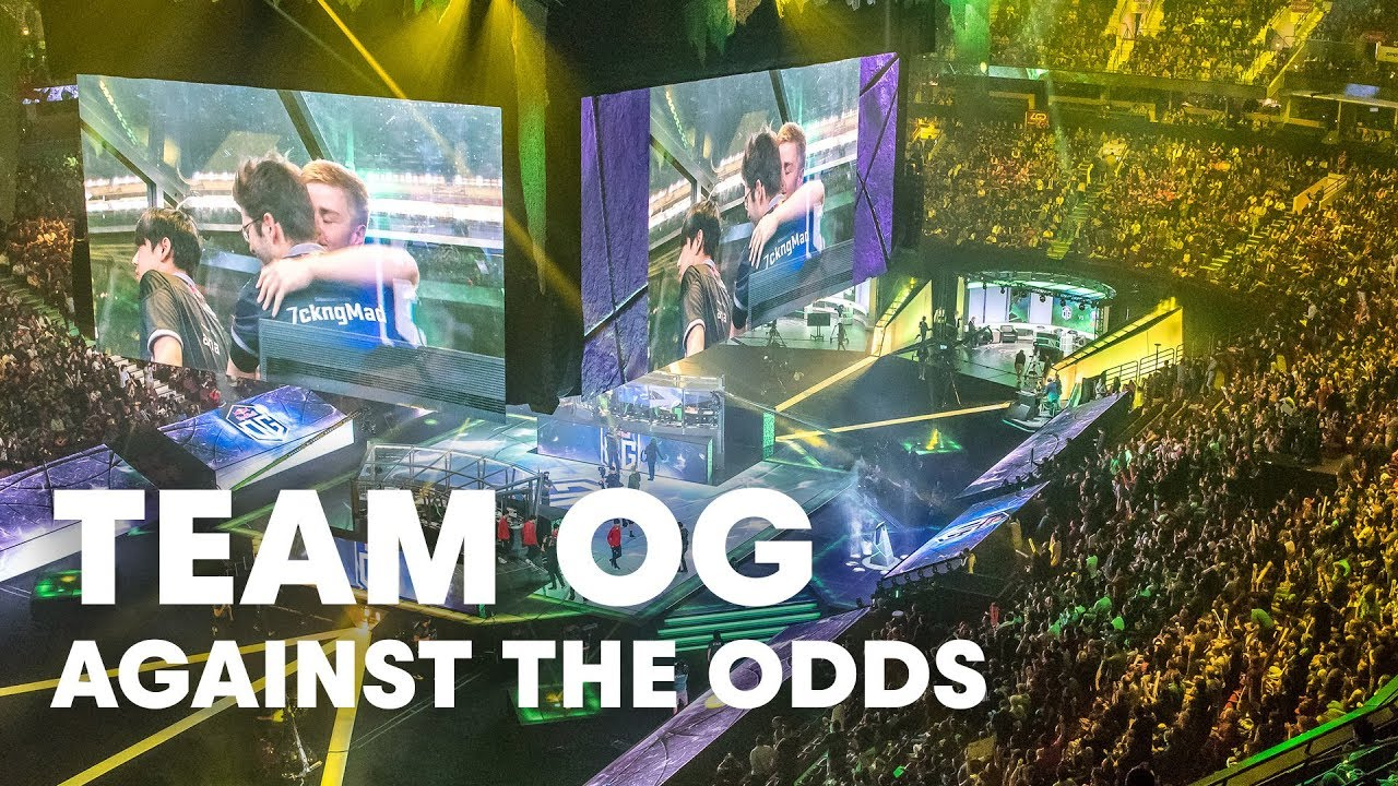 Battling For The Biggest Prize in Esports | OG's comeback at DOTA 2's TI8
