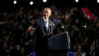 Obama talking to millennials in farewell speech?