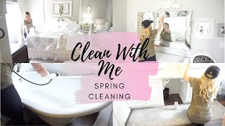 SPRING 2020 CLEAN WITH ME | CLEANING MOTIVATION | MONICA ROSE