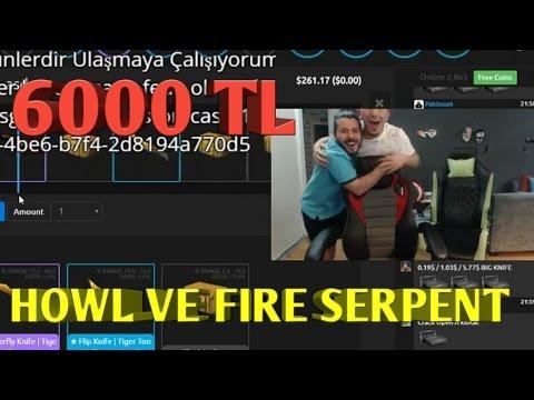 UNLOST 6000 TL HOWL VE FIRE SERPENT ÇIKARDI !