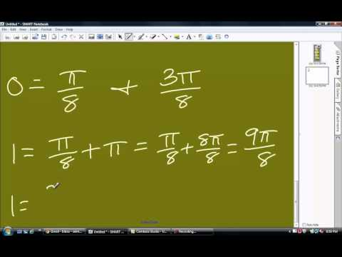 Trigonometry- Taking an equation to a general formula