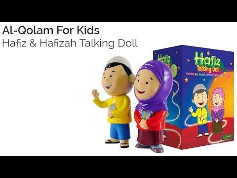 TALKING DOLL HAFIZ HAFIZAH AL QOLAM - 0856 0700 1169