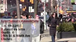 Manhattan, New York - Video Tour di un appartamento ammobiliato su West 19th Street (Chelsea)