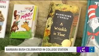 Barbara Bush celebrated in College Station