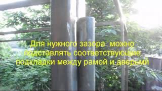 видео сварка петель на ворота