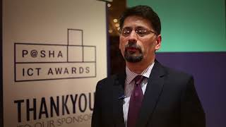 Shehryar Hydri at P@SHA ICT Awards 2017