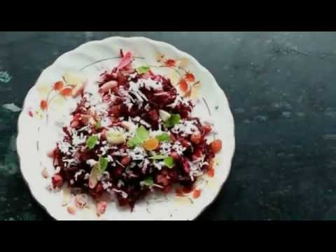 indian-beetroot-halwa!-(zero-oil-and-very-low-fat)!-how-i-lost-36kgs-in-6-months