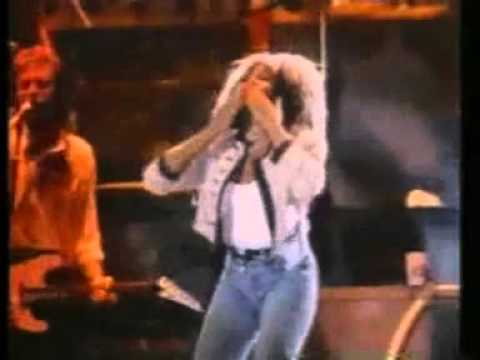 commercial in Brazil Tina Turner