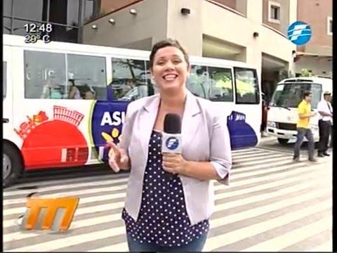 Habilitan buses turísticos para recorrer Asunción 19/03/16