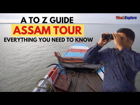 Assam, North East India Tour Guide | Assam Tourist places