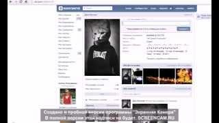 Баги и приколы ВКонтакте(2014)