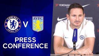 Frank Lampard on John Terry39s Stamford Bridge Return amp Tammy Abraham Injury  Chelsea v Aston Villa