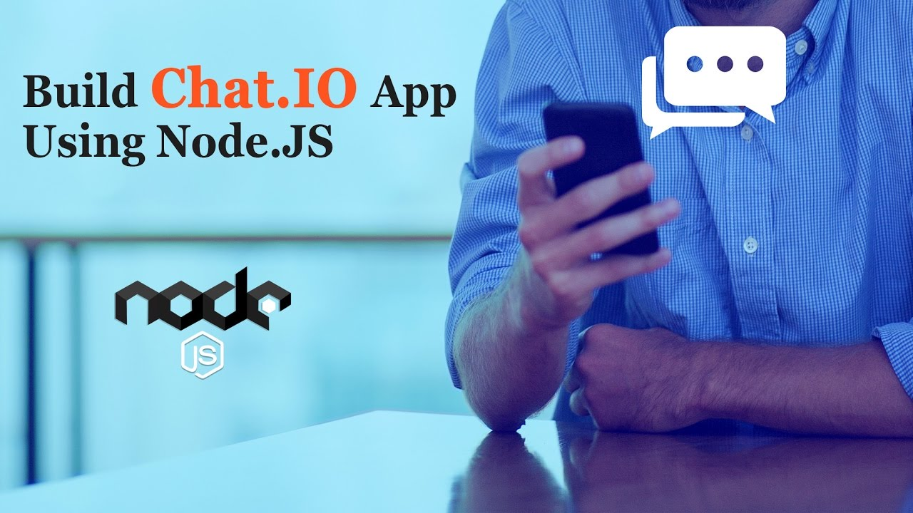 Learn To Build A Chat App  Build Chat App Using Nodejs