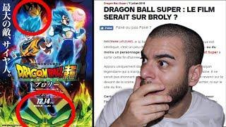 (Dragon Ball Super) L'AFFICHE DU FILM 2018 CHOQUE TOUT LE MONDE !? BROLY !!!!!