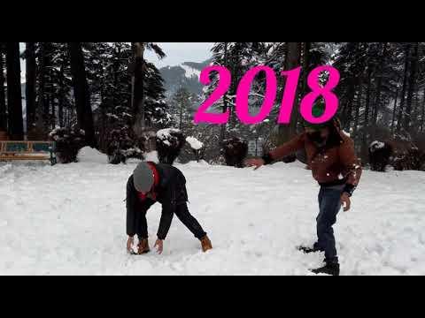 Snowfall In Patnitop-Jammu&Kashmir,2018