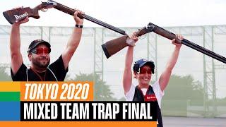 Shooting Mixed Team Trap Final | Tokyo Replays screenshot 2