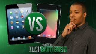 iPad Mini vs. Nexus 7  - Soldier's Tech Battlefield