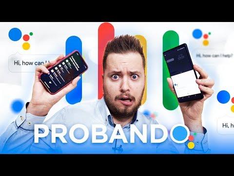 Probando Google Assistant en español y comparando con Siri