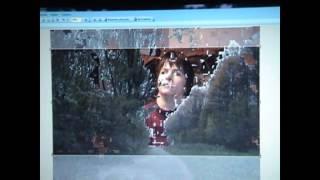 Как изготовить фото размером 2560 х 1440. Баннер для YouTube.