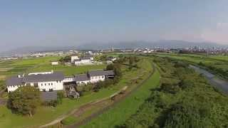 DJI Phantom2 Vision+ 2nd Flight in Miyazaki Prefecture JAPAN.