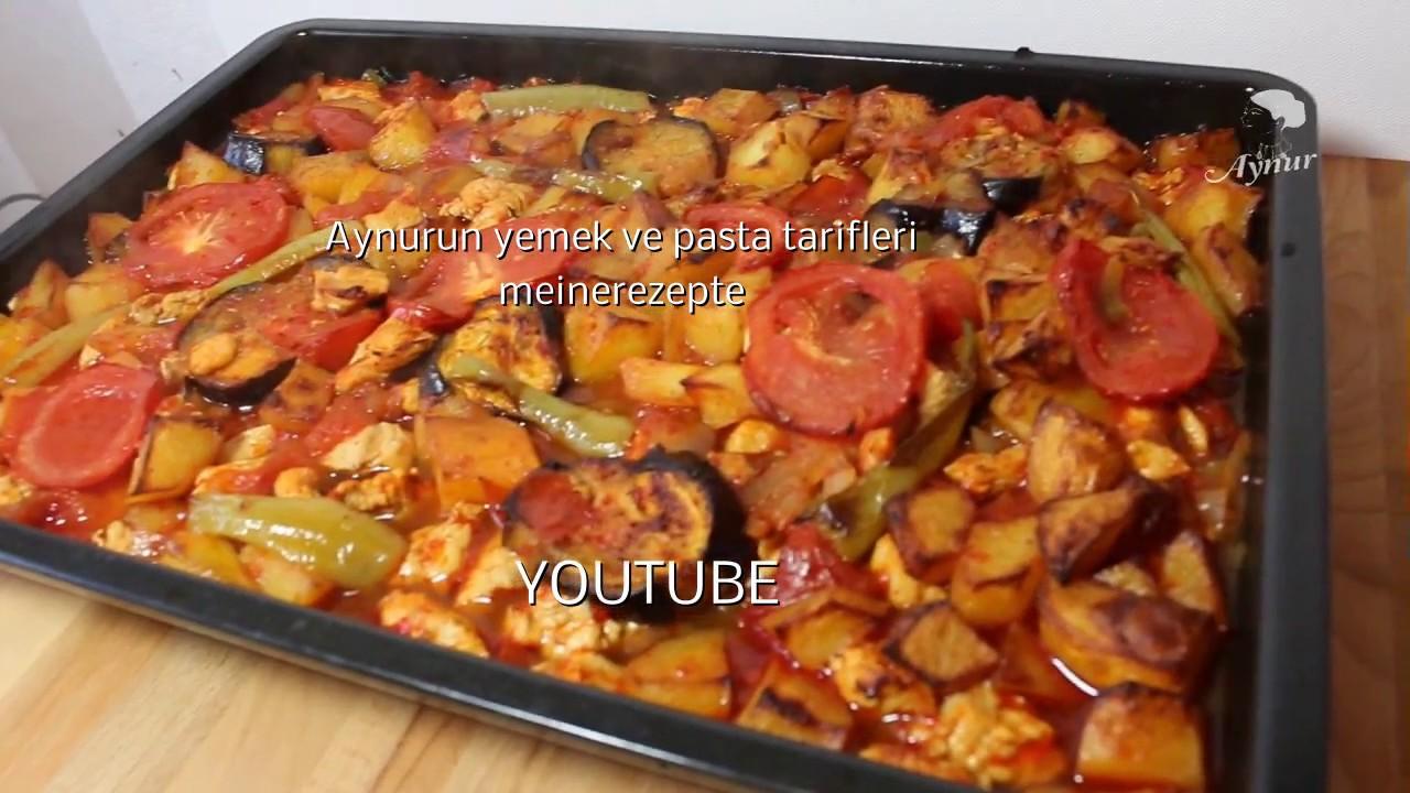 Patlıcanlı Tavuk Eti Tarifi