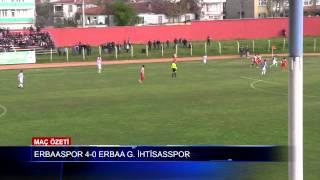 Erbaaspor 4-0 Erbaa Güreş İhtisasspor Maç Özeti