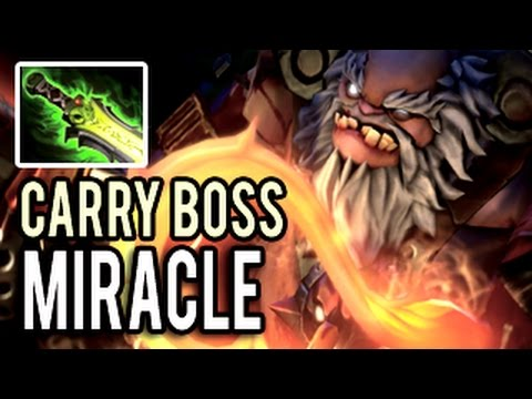 Pudge Carry BOSS The Best Pudge In The World By Miralce 8k HP ShowMatch Of 9k MMR Gameplay