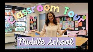 Classroom Tour | Middle School