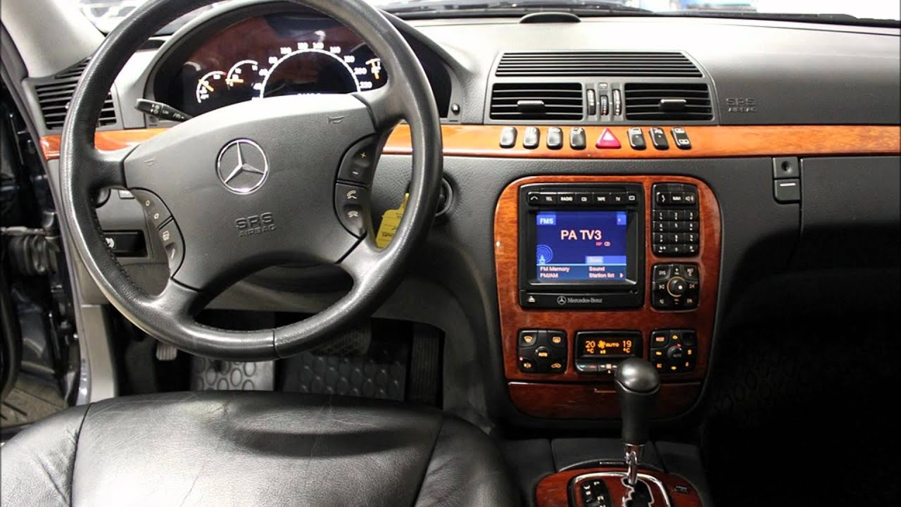 hight resolution of mercedes benz s500 2002