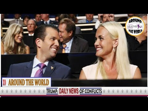 Donald Trump Jr's wife Vanessa HOSPITALISED after receiving letter containing white powder
