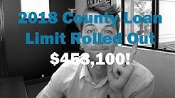 2018 County Loan Limit Announced! - Hallows FLG Home Report