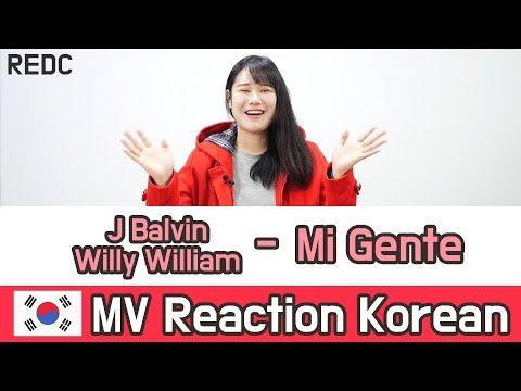 [REDC] J Balvin, Willy William - MI Gente :: Korean MV REACTION