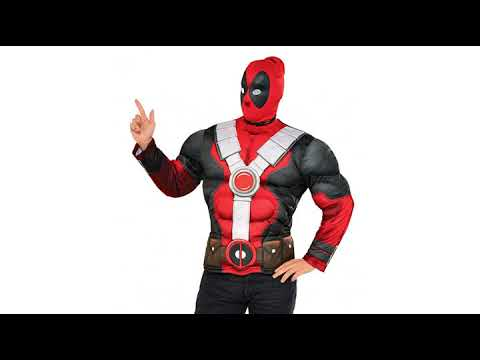 MUST SEE review for SuperHero/Cosplay !! Rubie's Costume Co Marvel Men's Universe Classic Muscle..