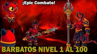 Monster Legends - Barbatos (Nivel 1 al 100) + Combate