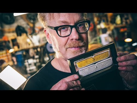 Inside Adam Savage's Cave: Alien Nostromo Crew Wings!