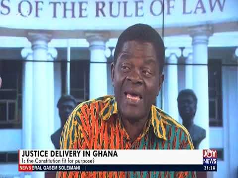 Legal Education: New CJ Would Confront Problems With Human Face Kwaku Ansah-Asare (8-1-20)