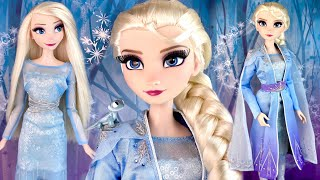 Frozen 2: ELSA Limited Edition doll REVIEW & Unboxing (Ooak doll)