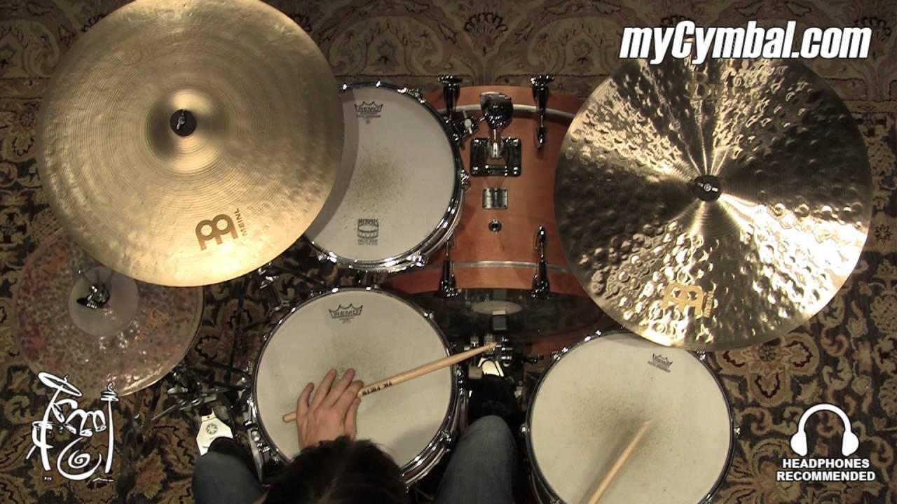 meinl 20 byzance jazz medium ride cymbal 2183g b20jmr 1032916x youtube. Black Bedroom Furniture Sets. Home Design Ideas