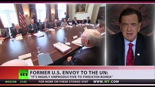 'Highly unproductive to threaten N.Korea' – Former US envoy to UN