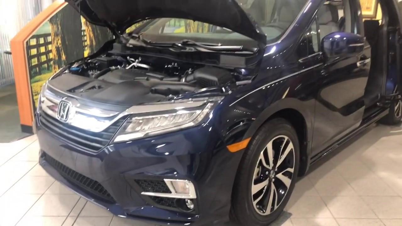 Don Jacobs Honda >> 2019 Honda Odyssey Elite Don Jacobs Honda Youtube